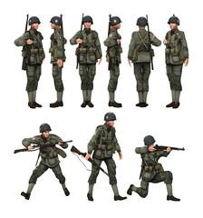US Soldier Paratrooper