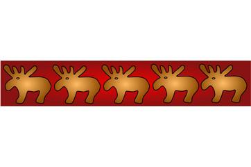 Elch, weihnachten, hintergrund