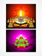 deepak diwali background set