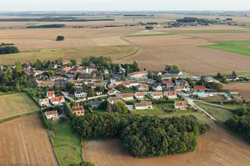 Lieu-dit Le Rottoir, Boissy-le-Sec vue du ciel