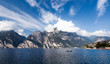canvas print picture - Lago di Garda