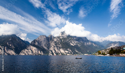 canvas print picture Lago di Garda