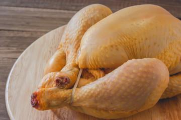 Whole raw chicken