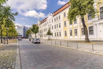 Landtag am Domplatz in Magdeburg
