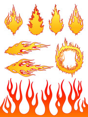 Set of Vector Fire Elements