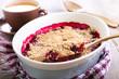 Fruit crumble cake - 71406651