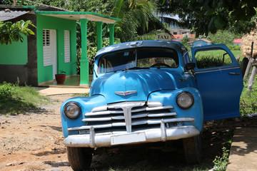 camionette bleue