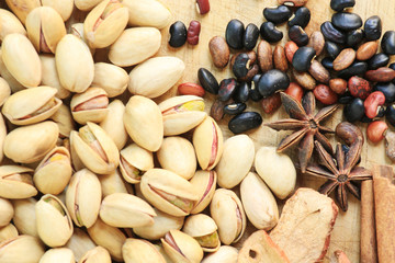 Nuts and chinese herb