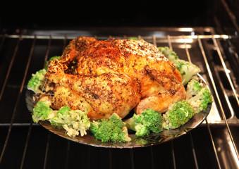 appetizing roast turkey
