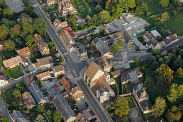 Roinville-sous-Dourdan Île-de-France vue du ciel