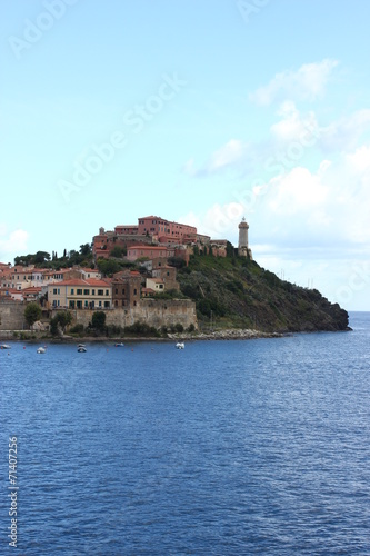 canvas print picture Die Insel