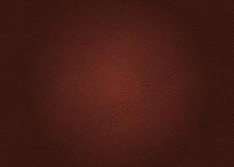 Leder Textur, Braun, mit leichtem Licht in der Mitte