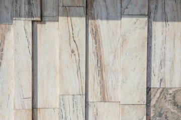 Marble tile with a natural pattern