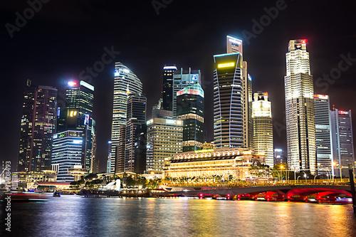 In de dag Singapore Marina Bay, Singapore
