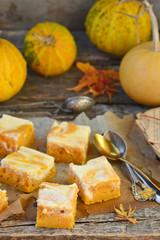 pumpkin pie about cream cheese