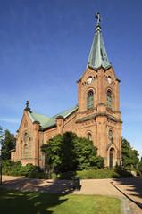 City church in Jyvaskyla. Finland