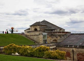 Château d'Amboise: spectacle.
