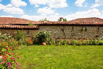 Rural Backyard in Bulgaria