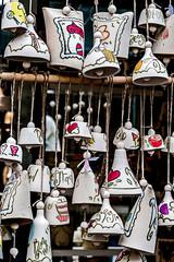 Ceramic bell hanging 1