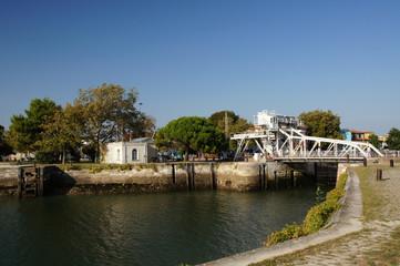 Pont Levant du Gabut - La Rochelle