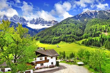 Alpine scenery - Dolomites, Val di funes
