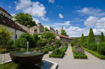 Willibaldsburg mit Hortus in Eichstätt