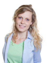 Attraktive Frau aus Skandinavien