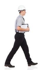 Walking engineer.