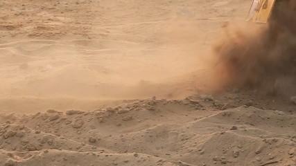 bike stuck in the sand