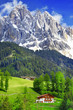 breathtaking nature of Dolomites. Italian Alps