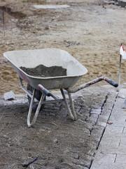 barrow wheelbarrow pushcart