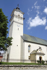 The church of St George in Spisska Sobota,Slovakia