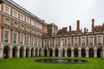 Hampton Court Palace's inner yard