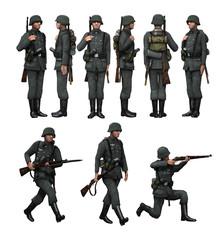 German Soldier Infantry