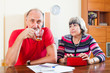 Mature couple did not have the money on your loan repayments