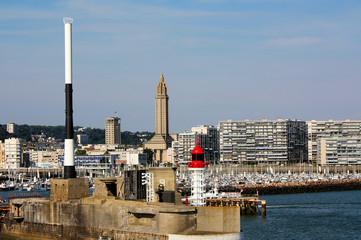 Hafen Le Havre
