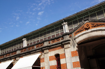 Détail des Halles de La Rochelle