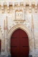 Porte de l'hôtel de ville de La Rochelle
