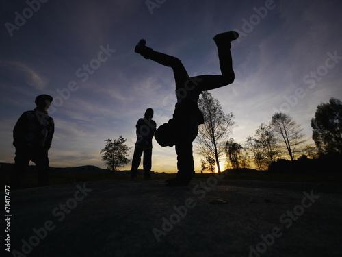 breakdancer Plakát
