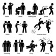 Human Man Action Emotion Cliparts Icon