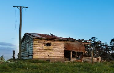 Aged Farm Shed