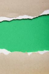 Green paper.
