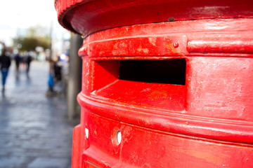 english red letterbox.