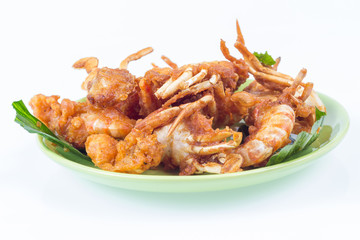 fried sea food shim