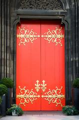 Retro look Door