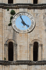 Ancient clock tower of St Nicholas Church, Montenegro