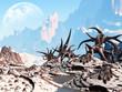 Leinwanddruck Bild - Fantasy landscape