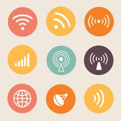 Wireless icon  illustration.