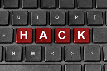 hack word on keyboard