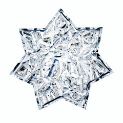 Star in Glass